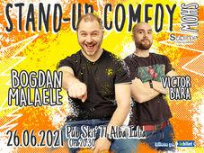 Alba Iulia: Stand-Up Comedy cu Bogdan Malaele si Victor