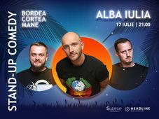 Alba Iulia: Stand-Up Comedy cu Bordea, Cortea si Mane Voicu