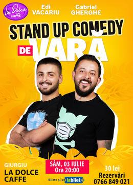 Giurgiu: Stand Up Comedy de Vară | Gabriel Gherghe & Edi Vacariu