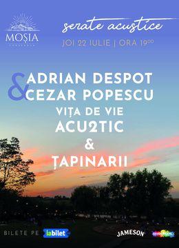 Concert Adrian Despot & Cezar Popescu, Vița de Vie Acu2tic & Țapinarii