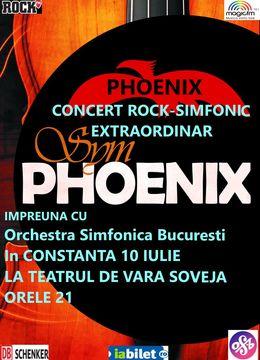 Constanta: SYMPHOENIX - concert rock simfonic extraordinar
