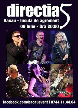 Bacau: Concert Directia 5