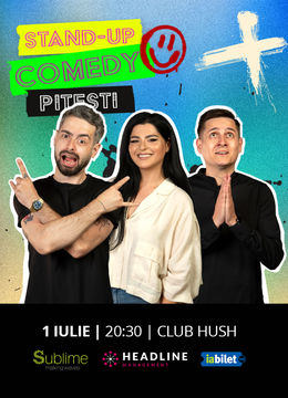 Pitesti: Stand Up Comedy Cu Bucalae, Tanase si Ioana State