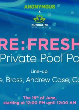 RE: Fresh 1st Private pool party