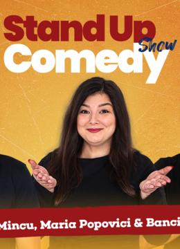 Stand up comedy la Club 99 cu Maria, Mincu si Banciu