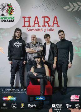 Concert Hara at Grădina Urbană