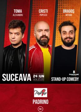 Suceava: Stand up Comedy cu Toma, Cristi si Mitran