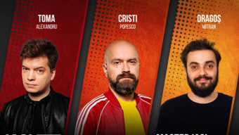 Iasi: Stand up Comedy cu Toma, Cristi si Mitran