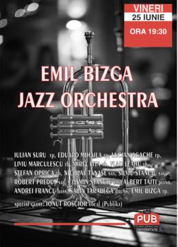 Emil Bizga Jazz Orchestra @ The PUB