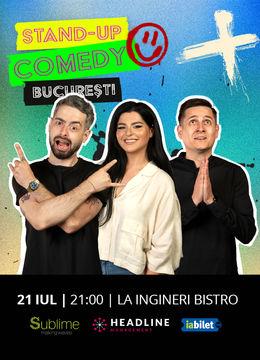 Bucuresti: Stand Up Comedy cu Bucalae, Tanase si Ioana State