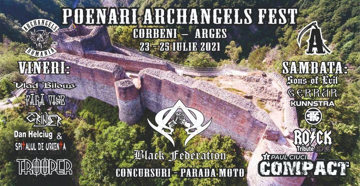 Arges: Poenari Archangels Fest