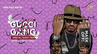 Cluj-Napoca: GUCCI GANG /• Hiphop •Trap • Drill •/Rooftop Party
