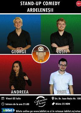 Turda: Stand-up Comedy cu Ardeleneșii