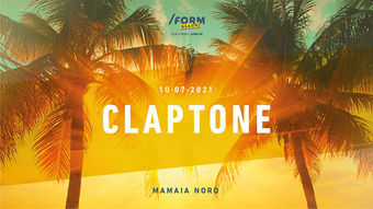 Claptone at /FORM Beach