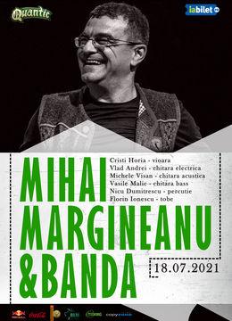 Concert Mihai Margineanu și Banda live la Quantic