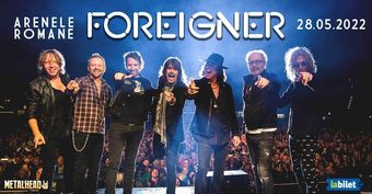 Foreigner in concert la Arenele Romane