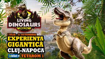 Cluj-Napoca: Living Dinosaurs