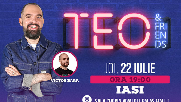 Iasi: Stand UP Show - Teo si Victor Bara Show 1