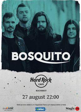 Bosquito canta la Hard Rock Cafe