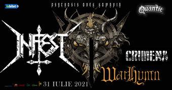 Concert  Infest // Crimena // Warhymn