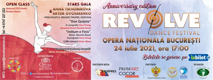 Revolve Dance - Stars Gala & Open class
