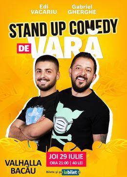 Bacău: Stand Up Comedy de Vară | Gabriel Gherghe & Edi Vacariu