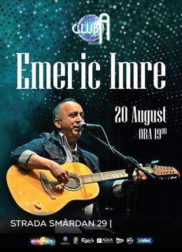 Concert Emeric Imre at Club A