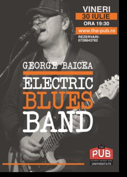 George Baice Blues Band la The PUB Universitatii
