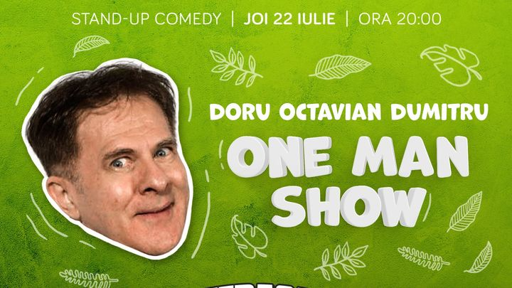 One Man Show cu Doru Octavian Dumitru pe Terasa ComicsClub!