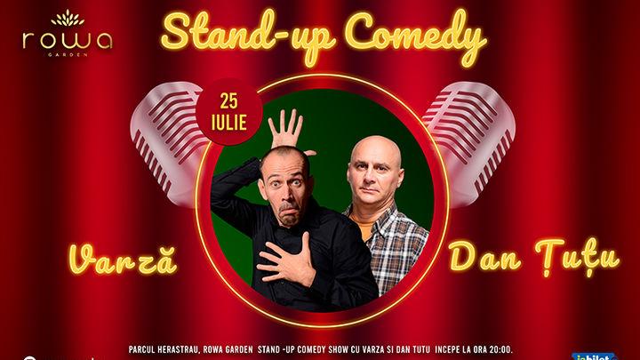 Stand up Comedy cu Dan Tutu si Varza in Herastrau Park