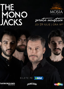 Concert The Mono Jacks la Moșia Corbeanca