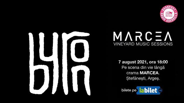 Concert byron la Crama Marcea