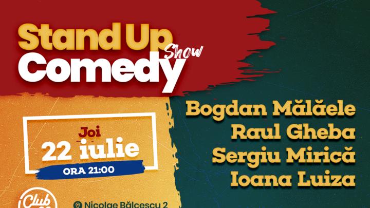 Stand up comedy Bogdan Malaele, Raul Gheba, Sergiu Mirica & Ioana Luiza
