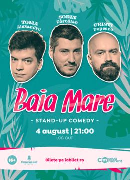 Baia Mare: Stand Up Comedy cu Toma, Popesco si Sorin Show 2
