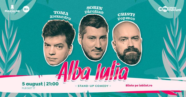 Alba Iulia: Stand Up Comedy cu Toma, Popesco si Sorin Show 2