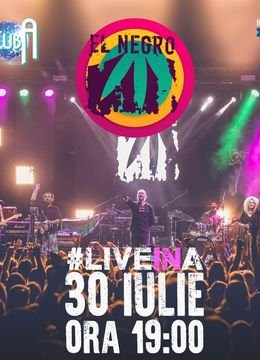 EL NEGRO #LiveinA