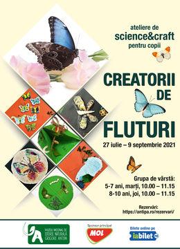 Creatorii de fluturi - ateliere de science & craft pentru copii