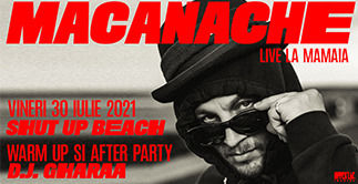 Constanta: Concert Macanache @ Shut up, Beach!