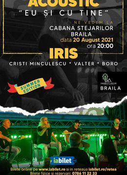 """Braila: Iris Cristi Minculescu, Valter& Boro- """"Eu si cu tine""""- Acustic"""