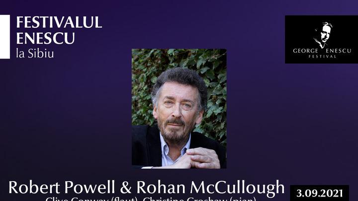 Recital Robert Powell & Rohan McCullough – Festivalul Enescu la Sibiu