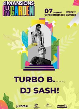 Brasov: Concert Turbo B (ex SNAP!) & DJ SASH!
