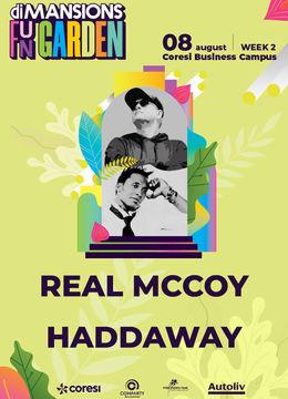 Brasov: Concert Real McCoy & Haddaway