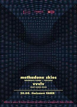 Timișoara: Methadone Skies & VVVLV | Dubla lansare de album: Retrofuture Caveman & 100 Years of Defeat