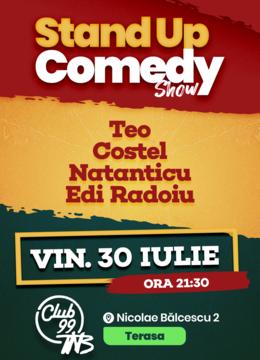 Stand up comedy cu Teo, Costel, Natanticu si Edi Radoiu