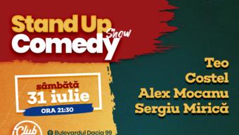 Stand up comedy cu Teo, Costel, Alex Mocanu si Sergiu Mirica
