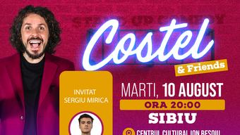 Sibiu: Stand up comedy cu Costel si Sergiu Mirică