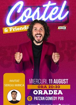 Oradea: Stand up comedy cu Costel si Sergiu Mirică