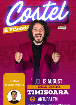 Timișoara: Stand up comedy cu Costel si Sergiu Mirică