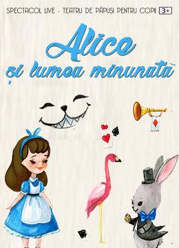 Alice și lumea minunată la Grădina Urbană