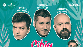 Sibiu: Stand Up Comedy cu Toma, Cristi si Sorin @ Mango Bar
